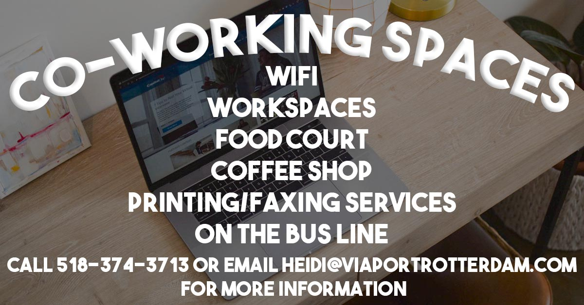 co-working spaces web